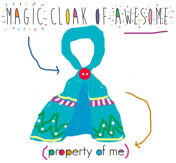 Cloak of awesome