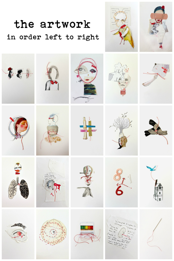 Full art collage