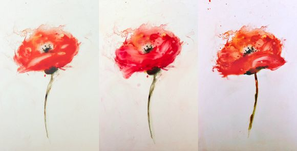 Poppy collage 2