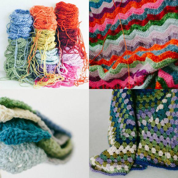 Collage crochet