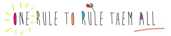 One rule to rule them all